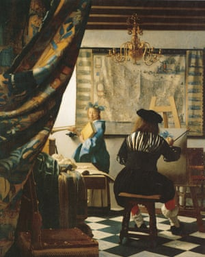 Vermeer's  The Art of Painting (c1666–68).