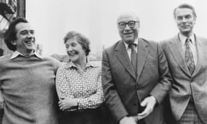 David Owen with the rest of the 'Gang of Four' in 1981