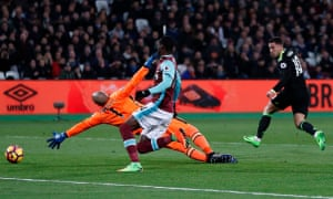 Eden Hazard (right) slots the ball past Darren Randolph to give Chelsea the lead.