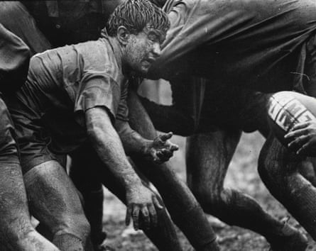 In the mud and muck at Randwick.