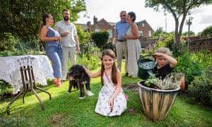 Nottingham lockdown family reunion