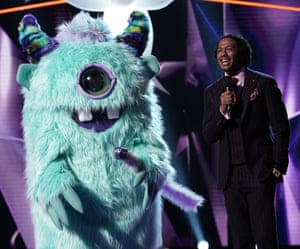 Monster and host Nick Cannon.