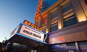 The Apollo Theater in Harlem, West 125th Street, US.