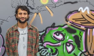 Hardeep Pandhal, whose two-site Nottingham show is called Paranoid Picnic.