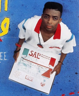 Spike Lee in 1989's Do the Right Thing.