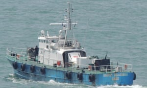 One of the disputed vessels