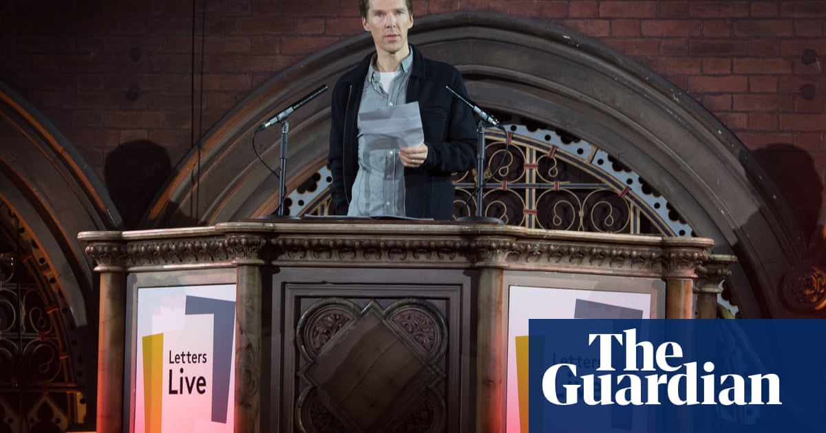 Benedict Cumberbatch on the explosive power of letters: 'They're grenades!'