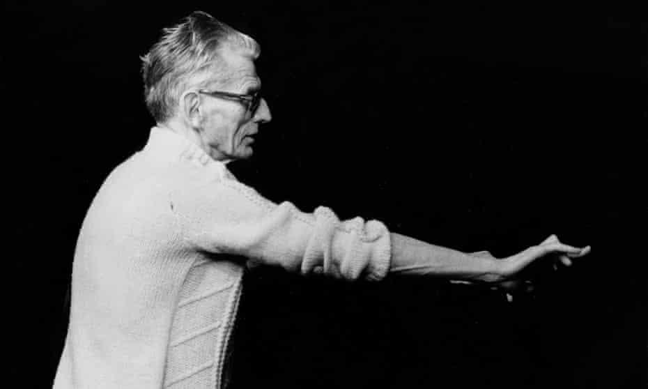 Samuel Beckett in 1977.