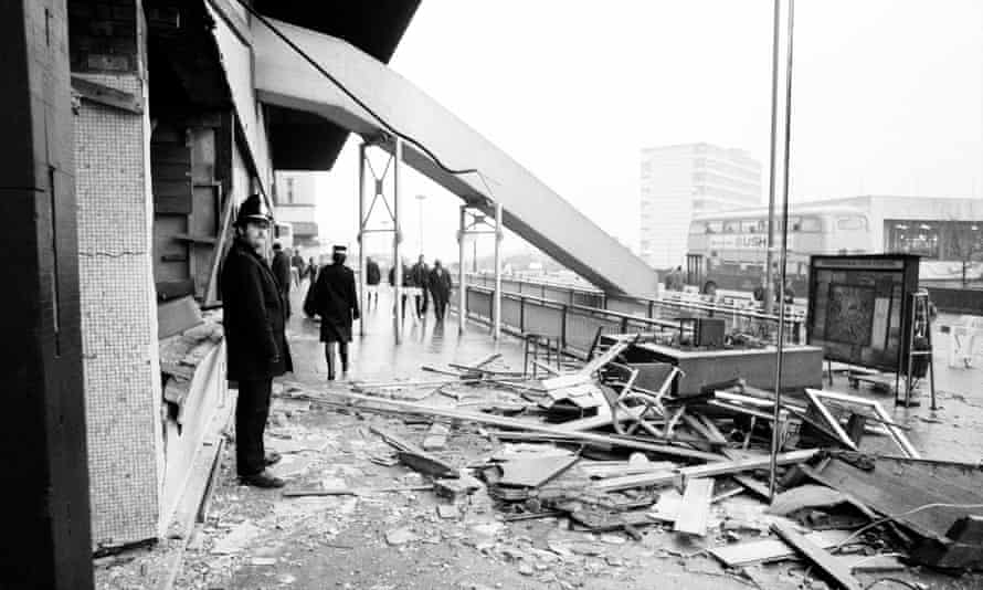 The Mulberry Bush pub in Birmingham after the bombings