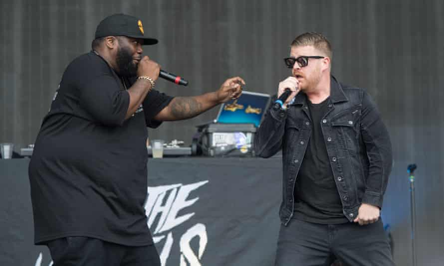 Killer Mike and El-P of Run the Jewels.