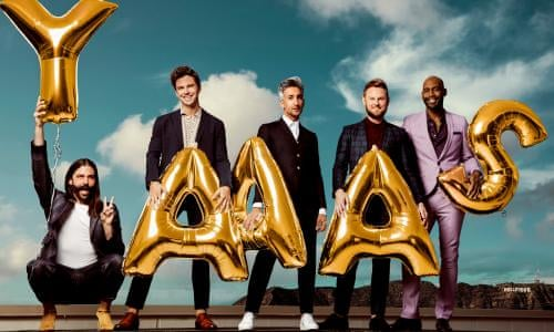 I tell the Queer Eye guys everything: from politics to