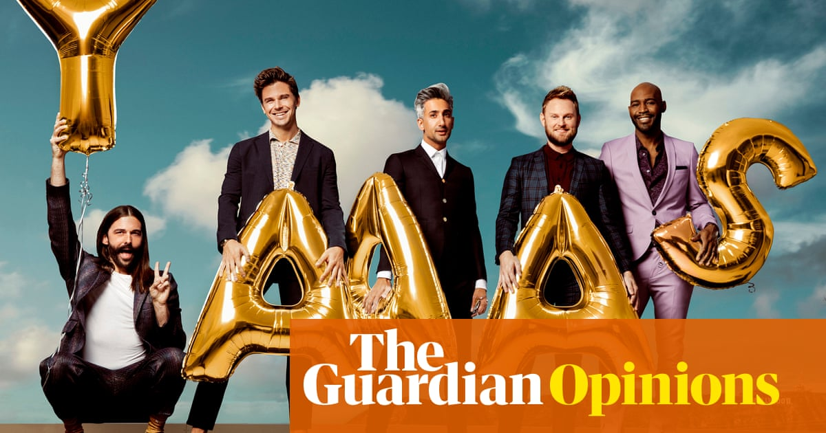 I tell the Queer Eye guys everything: from politics to dresses, they have the answers
