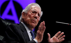 Mario Vargas Llosa said: 'I hope that in January when they elect a new Congress, citizens will choose better.'