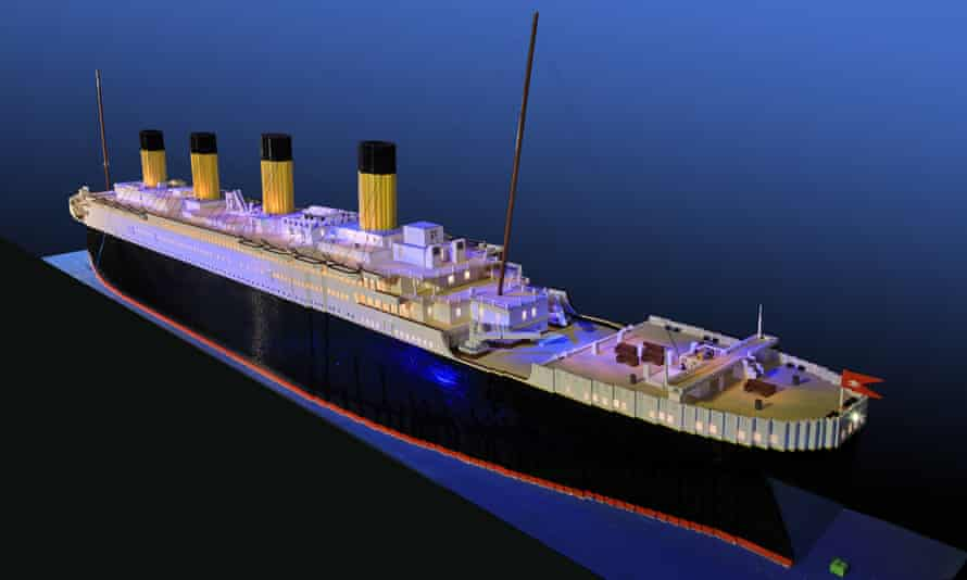 Brynjar Karl Birgisson's Lego model of the Titanic has previously been displayed in Iceland, Sweden, Norway and Germany.