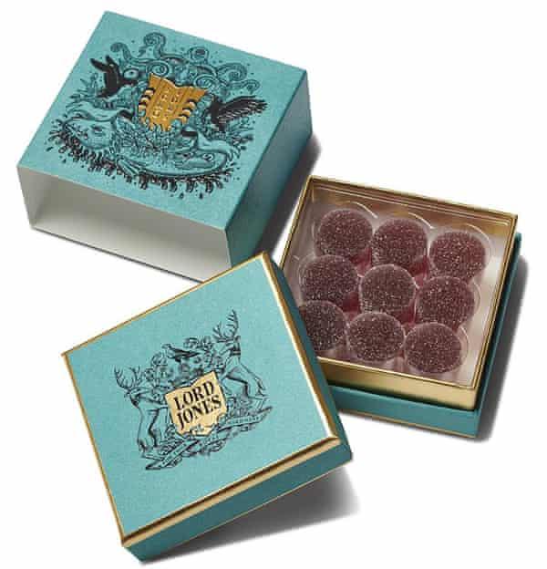 Lord Jones's cannabis-infused Sigur Rós wild sigurberry gumdrops.