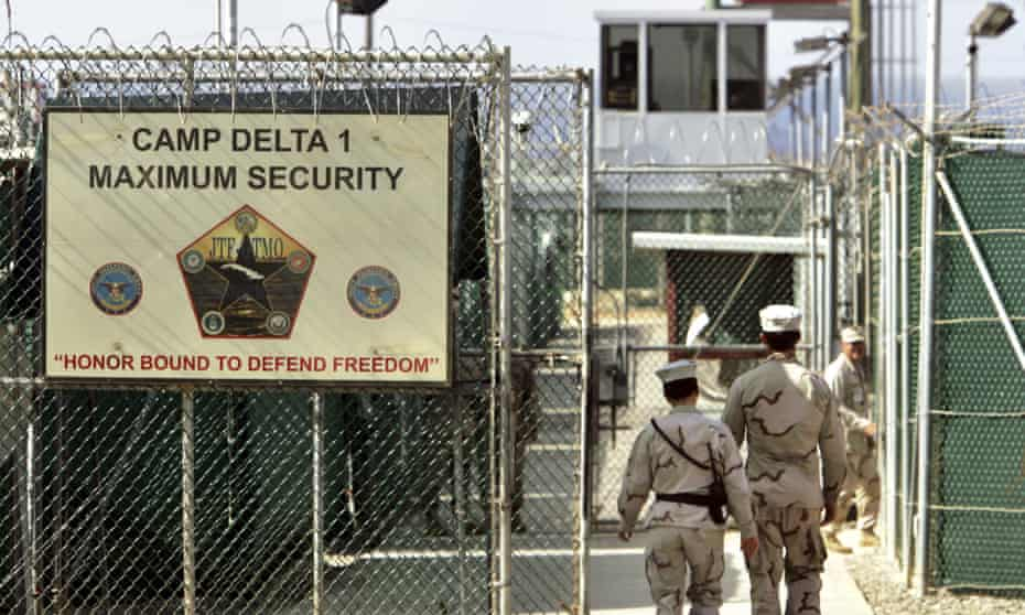 Trump did not announce he was about to order the transfer of new prisoners to Guantánamo Bay.