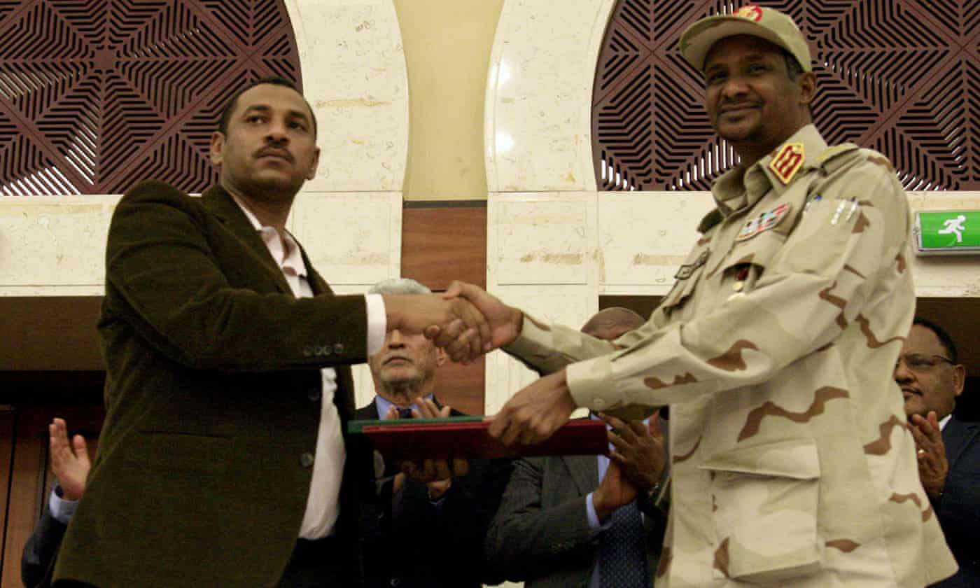 Sudan military and protesters sign power-sharing accord