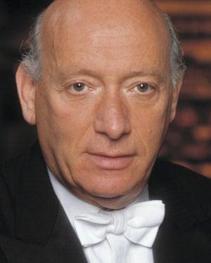 Pinchas Steinberg, who conducted this recording of Krenek's work a year before Krenek died, in 1991.