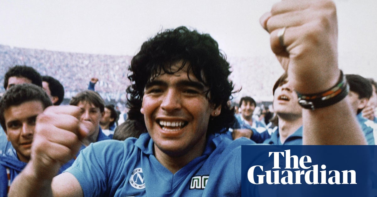 Child genius Diego Maradona became the fulfilment of a prophecy | Jonathan Wilson