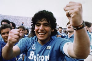 After winning his first Serie A with Napoli in 1987