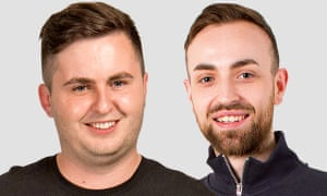 Jordan and Jack for Blind Date, 20 July 2019