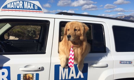 'He'd like to see peace on Earth': how a dog became mayor of a California town