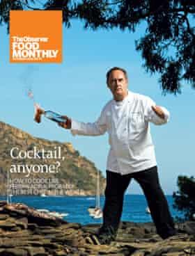 OFM cover October 2008 Ferran Adria Observer Food Monthly