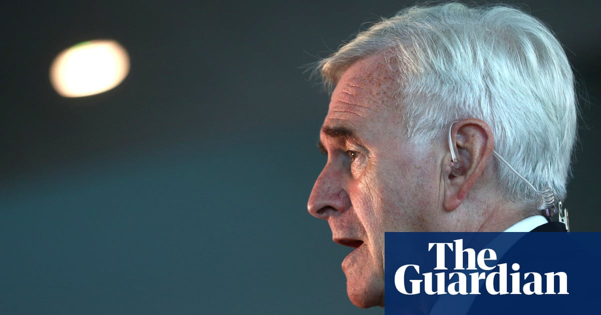 McDonnell: new Brexit referendum should not include remain option