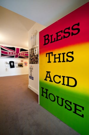 Jeremy Deller's Joy in People at the Hayward Gallery, London. Photograph: Linda Nylind for the Guardian