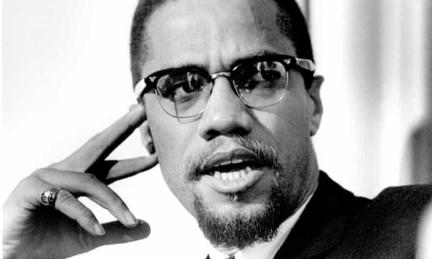 Malcolm X in 1965.
