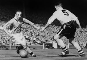 Stanley Matthews in the 1953 FA Cup final