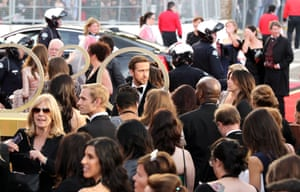 Actor Ryan Gosling arrives for the ceremony