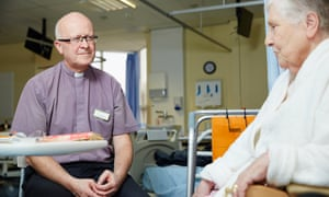 The Rev Chris Swift, head of chaplaincy services at Leeds teaching hospitals.