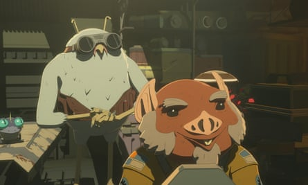 Flix and Orka in Star Wars Resistance. 'They're absolutely a gay couple and we're proud of that,' said Disney.