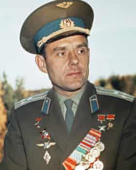 Soviet cosmonaut Vladimir Komarov died in the first manned Soyuz mission in 1967.