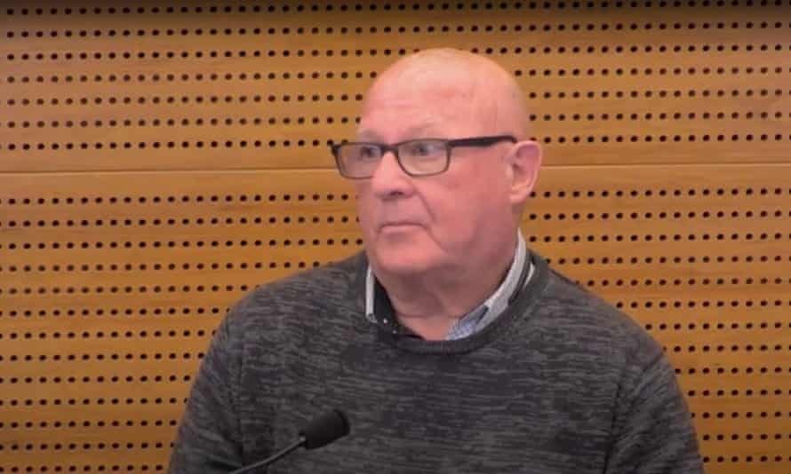 Robert Regan gives evidence to the banking royal commission in March 2018