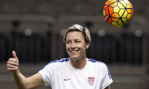 Abby Wambach gears up for China on Wednesday night.