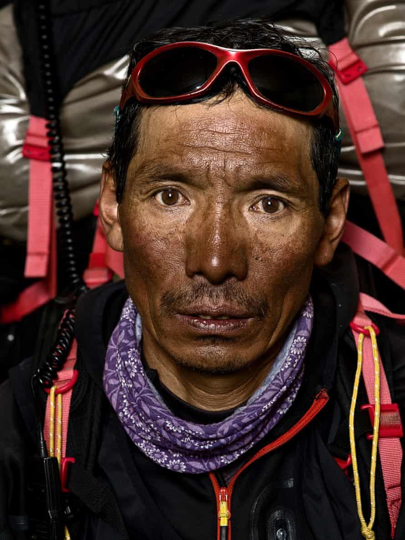 Son Dorjee, Andreas Friedrich's sherpa