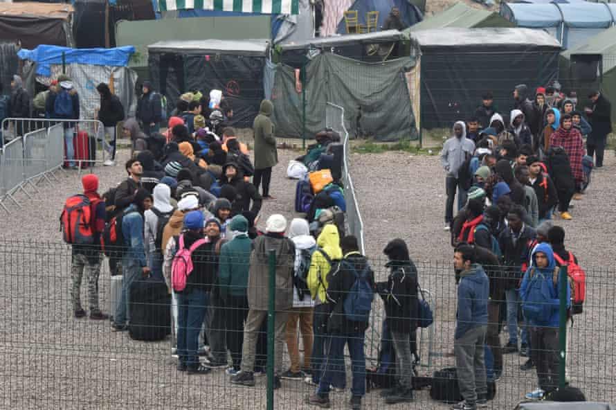 Calais refugee camp evacuation