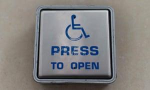 Disabled passengers train travel