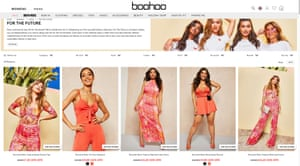 Fashion brand Boohoo has launched its first recycled range.