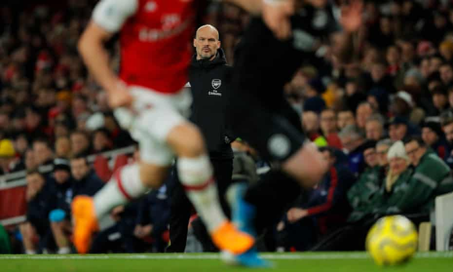 Freddie Ljungberg appeared increasingly frustrated as the game wore on