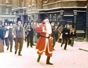Scrooge, starring Albert Finney