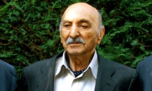 Mohammed Zahir Shah at his home in Italy in 2001.