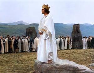 A test of mettle … Jon Finch in Roman Polanski's Macbeth.
