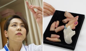 Meet the woman who makes fake fingers for Japan's reformed