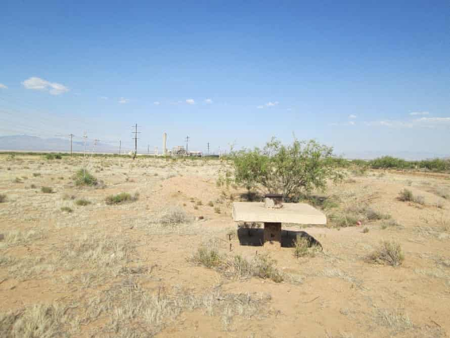 A protruding well casing in Cochise County has been displaced by about 3ft, as declining groundwater levels have caused land subsidence
