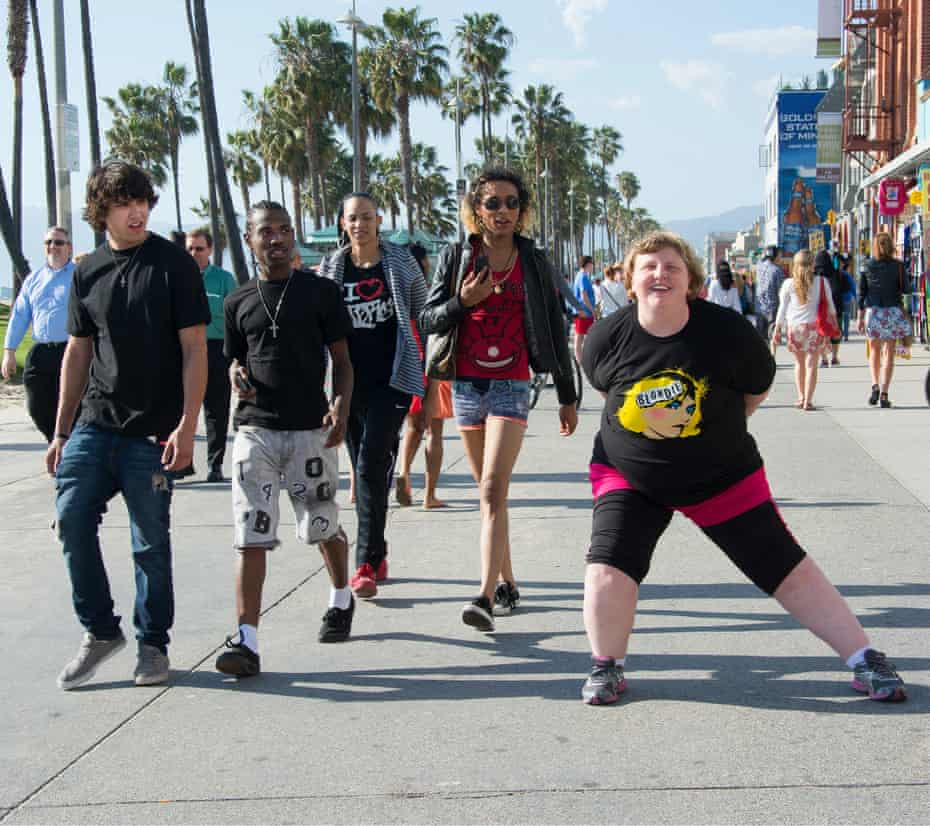 The shot, called Blondie – Venice Beach, by Morris-Cafiero.