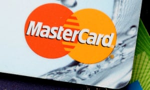 The MasterCard logo in the corner of a card