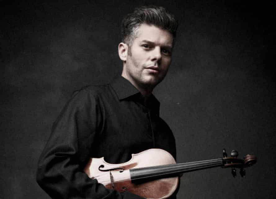 Barnabás Kelemen, solo violinist for BBCSO/Wigglesworth
